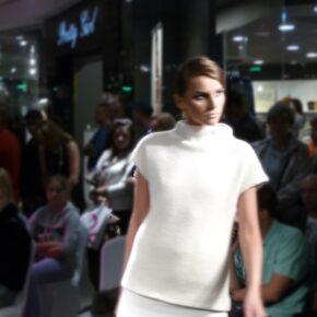 Pokaz mody. Galeria Łódzka