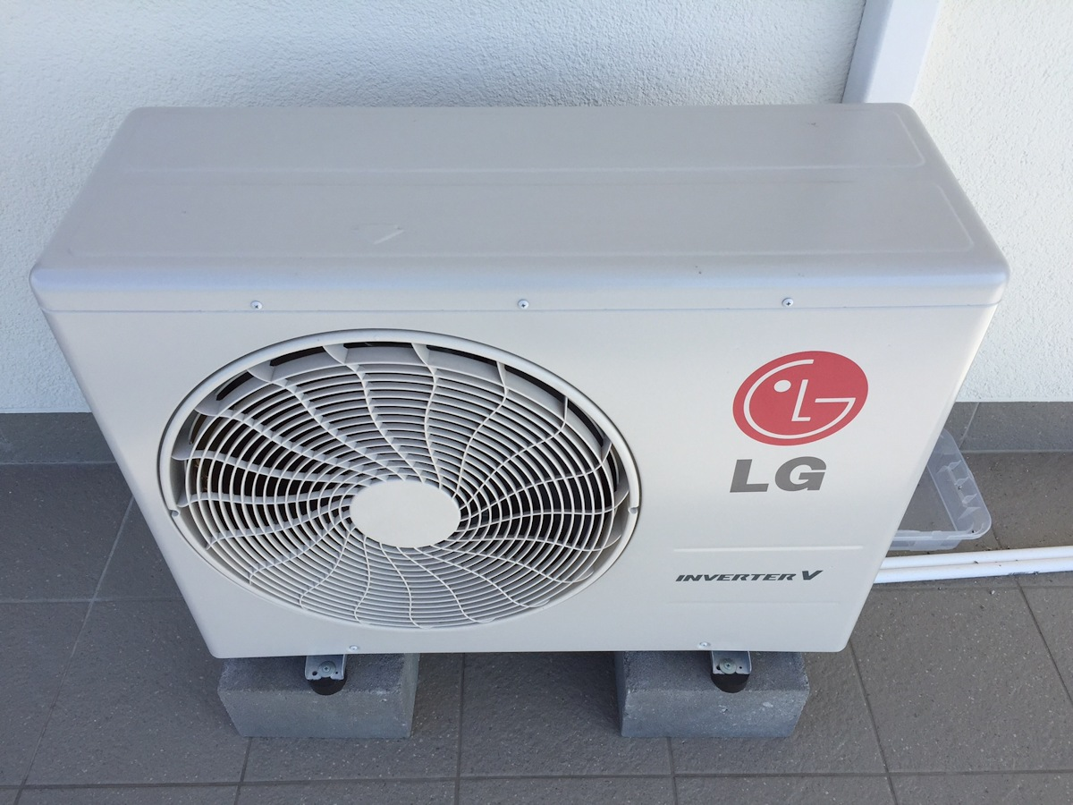 LG A18RL Artcool Mirror Inverter V - jednostka zewnętrzna
