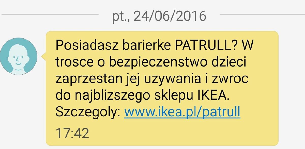 Ikea Day Bed Gumtree London ~ IKEA wycofuje barierkę ochronną PATRULL FAST  NaZakupy netNaZakupy