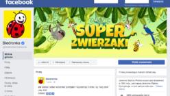 Biedronka codziennie - screen strona Facebook
